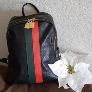Stylish Fashion Black Backpack